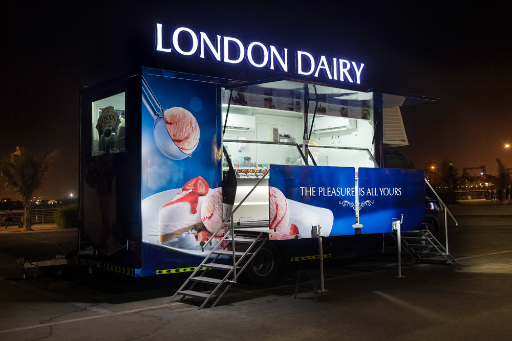London Dairy Cafe Food Truck