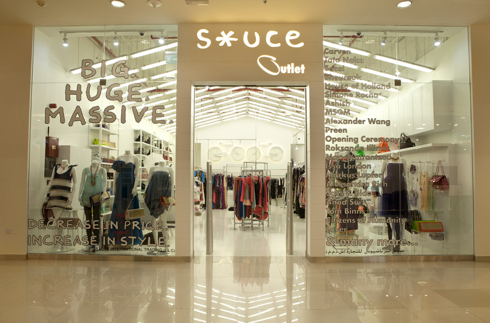 Sauce Outlet - Outlet Mall, Dubai
